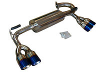 Fit Hyundai Genesis Coupe 2.0T&V6 09-12 Top Speed Pro-1 Axle-Back Exhaust System