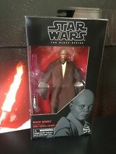 Star Wars Black Series Mace Windu Jedi 6 Inch Figure