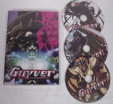 GUYVER The Bio-Boosted Armor Anime! 3 DVD 1-26 Animation & Anime 3 Disc