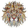 Lion Fashion Sticker Patch DIY Iron On Transfer Applique Clothes Fabric Craft