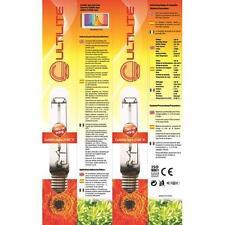 LAMPADA BULBO coltivazione indoor AGRO Cultilite HPS 150W 16500 lumen lamp g