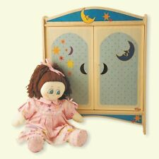 Dida Locker of Wooden Dolls With Hangers - Decoration Moon