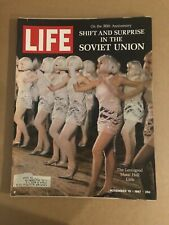 1967 November 10 Life Magazine Shift and Surprise in the Soviet Union (K11) 2