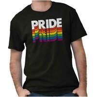 Gay Pride Rainbow LGBT Equality Rights Gift Short Sleeve T-Shirt Tees Tshirts