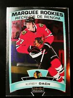 Kirby Dach - 2019-20 OPC Platinum Marquee Rookie #151 Chicago Blackhawks RC