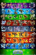2013 ACTIVISION SKYLANDERS SWAP FORCE VIDEO GAME POSTER 22x34 FREE SHIP