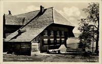 Bernau Schwarzwald alte Postkarte ~1930/40 Partie am Hans Thoma Haus ungelaufen
