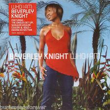 BEVERLEY KNIGHT - Who I Am (UK 14 Track Enh CD Album)
