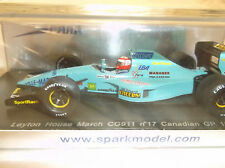BRAND NEW SPARK 1:43 Paul Belmondo ~ Leyton House March CG911 ~ Canadian GP 1992