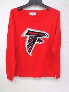 Atlanta Falcons Womens M Britt Sweater Touch By Alyssa Milano 066