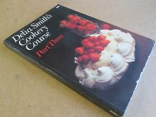 DELIA SMITHS COOKERY COURSE 3 SIGNED BOOK