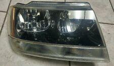 99 00 01 02 03 04 Jeep Grand Cherokee Lmt Passenger (RH) Headlight Assembly