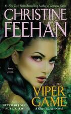 Viper Game (Game/Ghostwalker), Feehan, Christine, Good Condition, Book