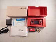 Nintendo Game Boy Micro Mother 3 Red System Bundle(COMPLETE IN BOX, CIB) #S532