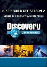 NEW Biker Build Off Season 2 - Episode 5: Indian Larry v. Mondo Pouras (DVD)
