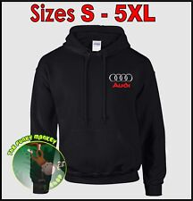 AUDI Logo Hoodie - Small up to 5XL