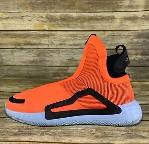 Adidas N3XT L3V3L F97259 Laceless Basketball Shoes Orange Trae Young Lavine 15