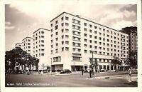 Washington, DC - Hotel Statler - REAL PHOTO - 1948 - old cars