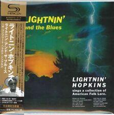 LIGHTNIN' HOPKINS-LIGHTNIN' AND THE BLUES-THE...-JAPAN MINI LP SHM-CD Ltd/Ed F56