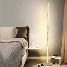 Modern LED Floor Lamp for Living Room Bright Lighting - Unique 48 inches Tall