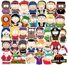 10pcs South Park Stickers Cartman Kenny Kyle Stan Animated Character Vinyl Decal