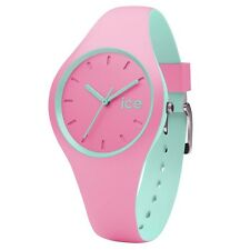 Ice-Watch 001493 Eis Duo Pink Silikonarmband Uhr