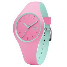 ICE-Watch 001493 hielo Duo Reloj con Correa de Silicona Rosa RRP £ 69.95
