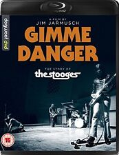 GIMME DANGER The Story of the Stooges di Jim Jarmush BLURAY in Inglese NEW .cp