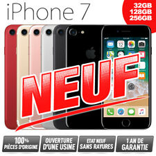 Neuf + Garantie 1 an debloque APPLE iPhone 7 32Go 128Go 256Go (desimlocke)