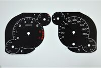 Toyota Tundra - Replacement dial - converted from MPH to Km/h BLACK Dial Convers