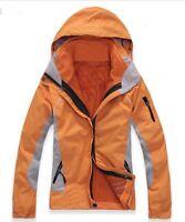 D10 Women Lady Orange Ski Snow Snowboard Winter Waterproof Jacket 6 8 10 12 14