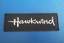 PUNK ROCK HEAVY METAL MUSIC SEW / IRON ON PATCH:- HAWKWIND