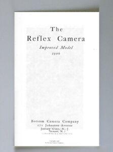 Borsum Reflex Camera 1906 Catalog photocopy