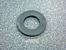 """REPLACEMENT FLAT BLACK 1/2"""" RUBBER WASHERS FOR VARIOUS PLUMBING FITTINGS"""