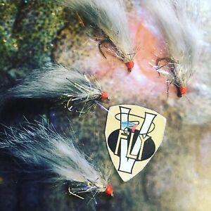 4 V Fly Size 10 Ultimate RV Super Straggler Zonker Trout Flies