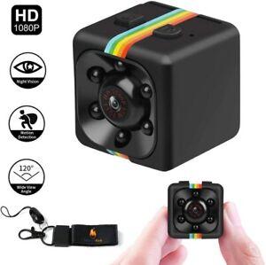 Caméra Surveillance Mini Caméra Espion HD Vision Nocturne Detecteur Mouvement FR