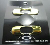Oakley Men's Batwolf Sunglasses Replacement Icons Icon Logo Pair Polished Gold