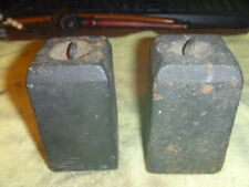 Two (2) Old Weights For 8 Day Triple Decker Or Og Ogee Clock Or Similar Clock