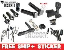 Strike Industries BLACK Enhanced Parts Kit - Mspec Lower W Logo Pivot Pin oops