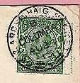 More details for postal history postmark gk & ardrishaig  packet