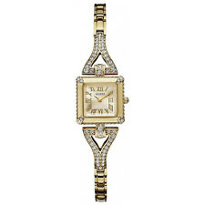 New Authentic GUESS Women Gold-tone Watch U0137L2 New with Tag and Box