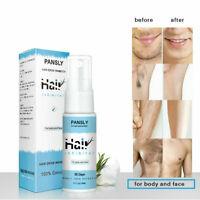 Unisex Women Men Hair Removal Spray For Face Smooth Body Leg Hair Grow Inhibitor