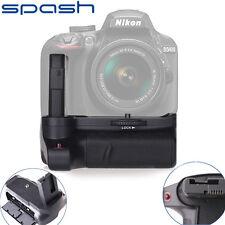 Battery Grip For Nikon D3400 DSLR Camera Work With EN-EL14 Battery