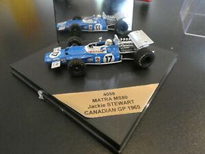 1:43 Matra MS80 Stewart champion du monde F1 1969 quartzo