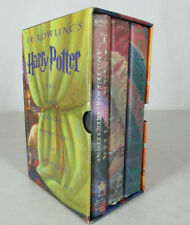 The Harry Potter Collection Boxed Set, Books 1-3, Hardcover, Scholastic, 1st Ed