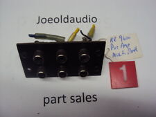 Kenwood KR 9600 Original RCA Jack Panel. Read More Below. Parting Out KR 9600