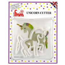 FMM Unicorn Horse Sugarcraft Gum Paste Plastic Cutter for Cake Decoration