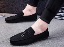 Fashion Men's Slip on Leather Driving Moccasin Casual Sneakers Loafer Shoes RA82