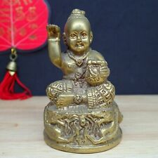 Kuman Thong Boy Voodoo doll Brass Ghost Statue Guman Buddha Amulet Call Money