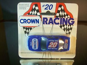 Rob Moroso #20 Crown XTRA Fast Fare 1990 Oldsmobile Cutlass Supreme Promo